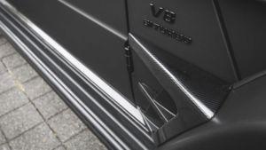 Mercedes Benz G-Klasse Mansory Car wrap Eindhoven Memphis Depay Mat Zwart Matte Black