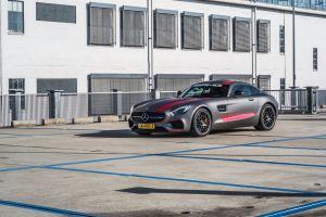 Portfolio Mercedes Benz GTS Carwrap Eindhoven Matte Metallic