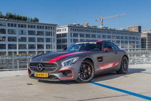 Mercedes Benz GTS Carwrap Eindhoven Matte Metallic