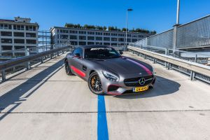 Mercedes-Benz GTS Carwrap Eindhoven Avery Satin