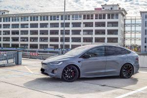 Portfolio Tesla Model X Carwrap Avery Nardo Grey Eindhoven