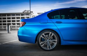 Portfolio Carwrap Eindhoven Matte Chrome BMW APA Italy