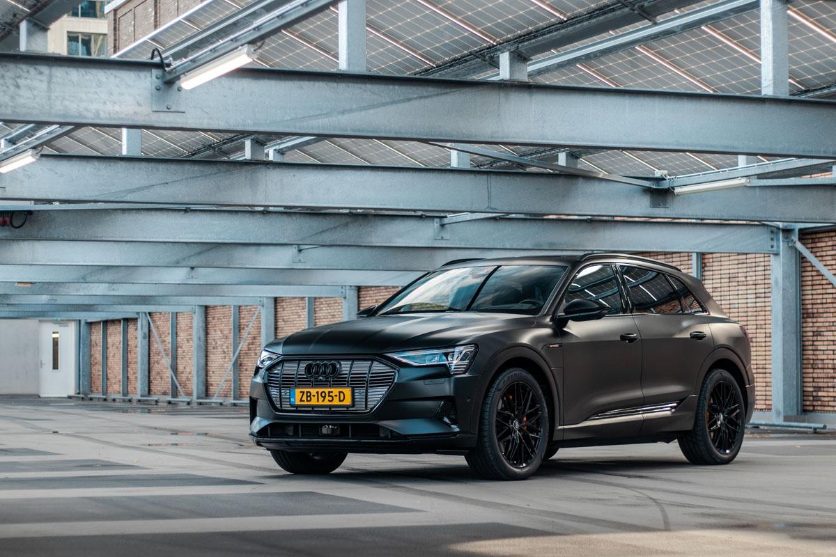 Carwrap Audi E-tron Eindhoven