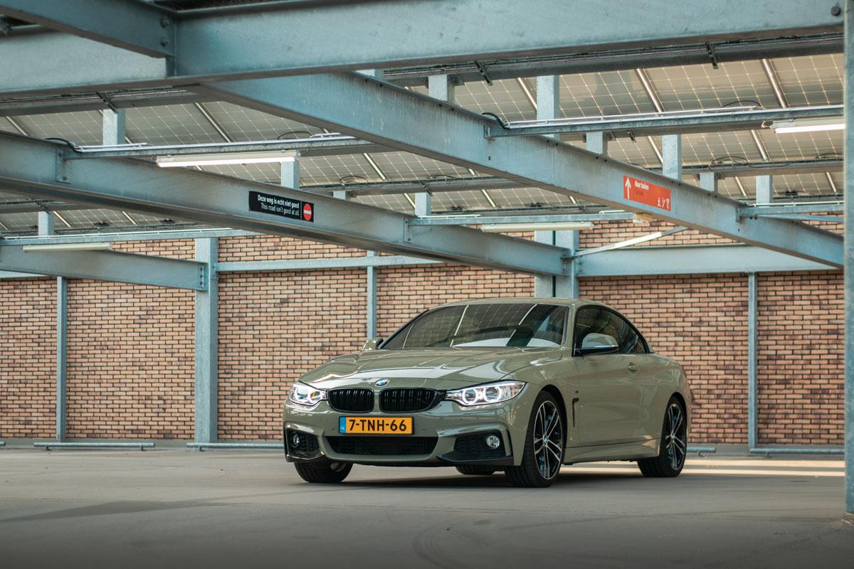 Carwrap BMW Urban Drab