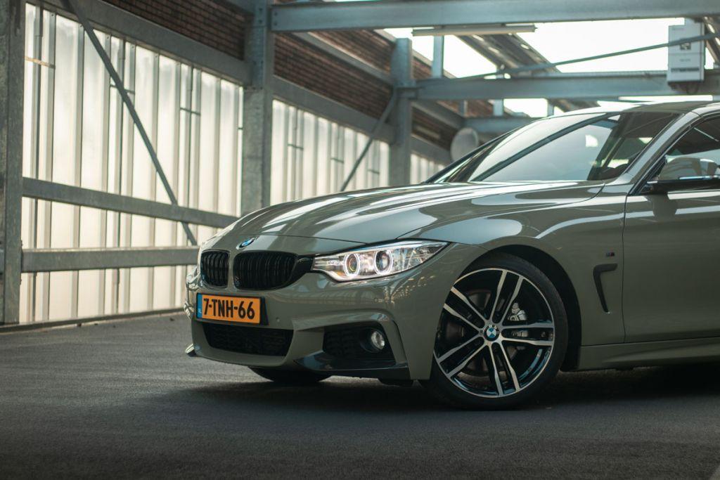 Carwrap BMW M4 Urban Drab