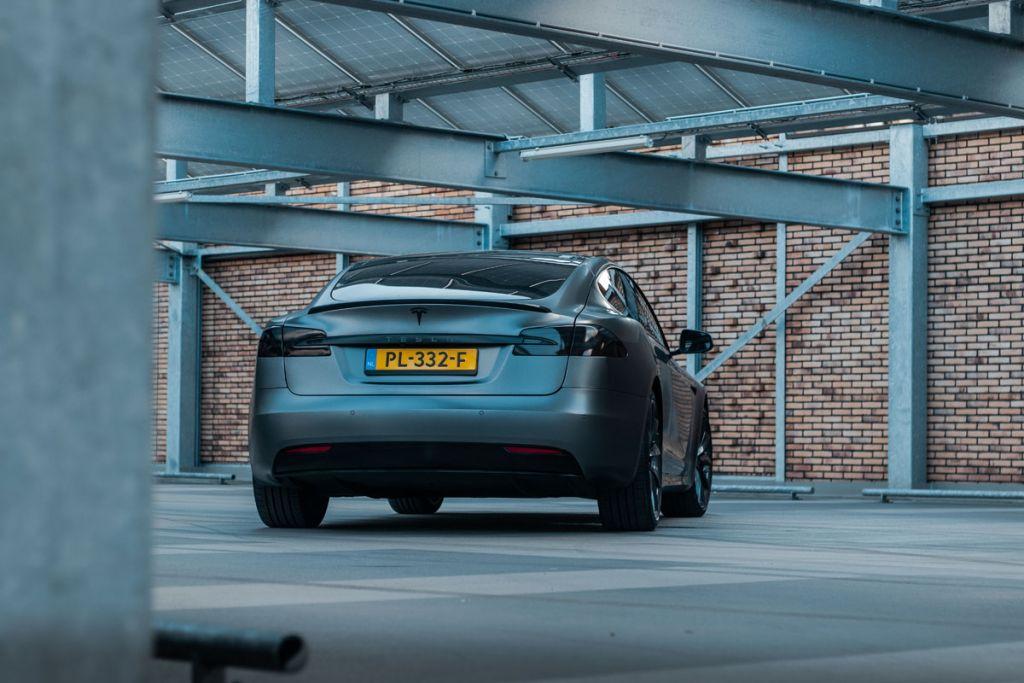 Tesla wrappen eindhoven