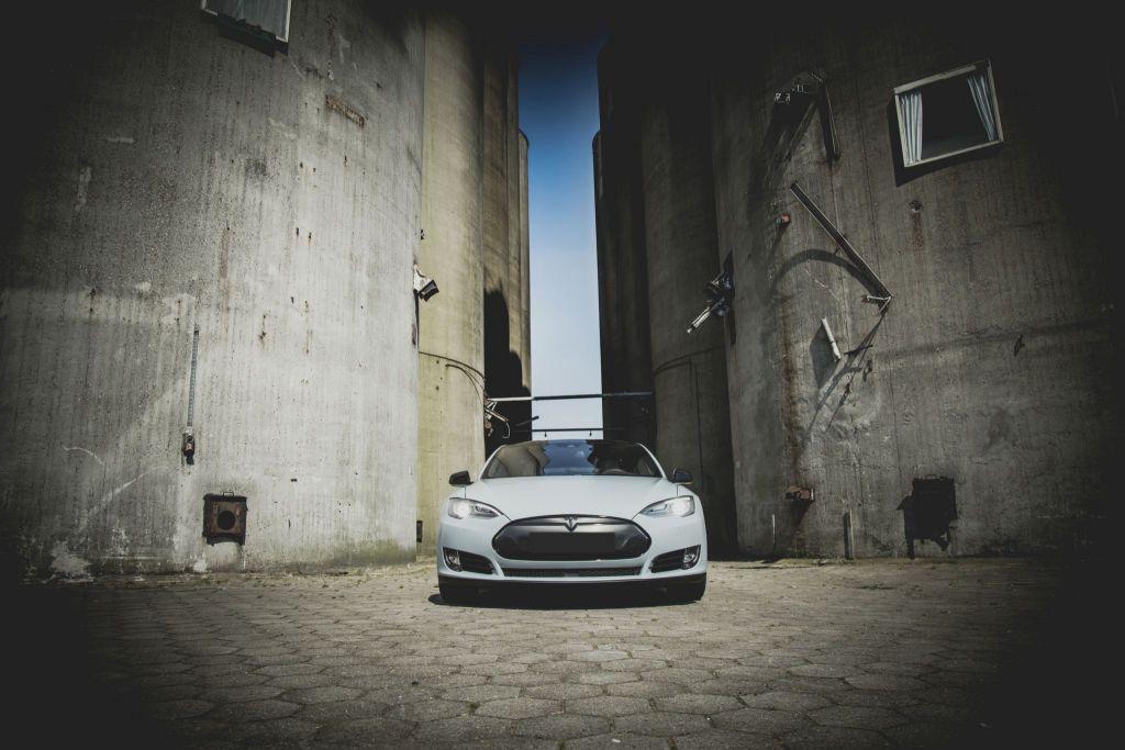 Tesla Model S Carwrap Veghel