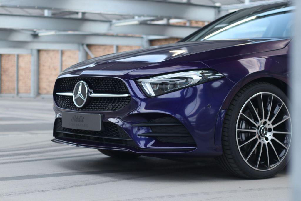 Mercedes-Benz A-klasse Carwrap Eindhoven