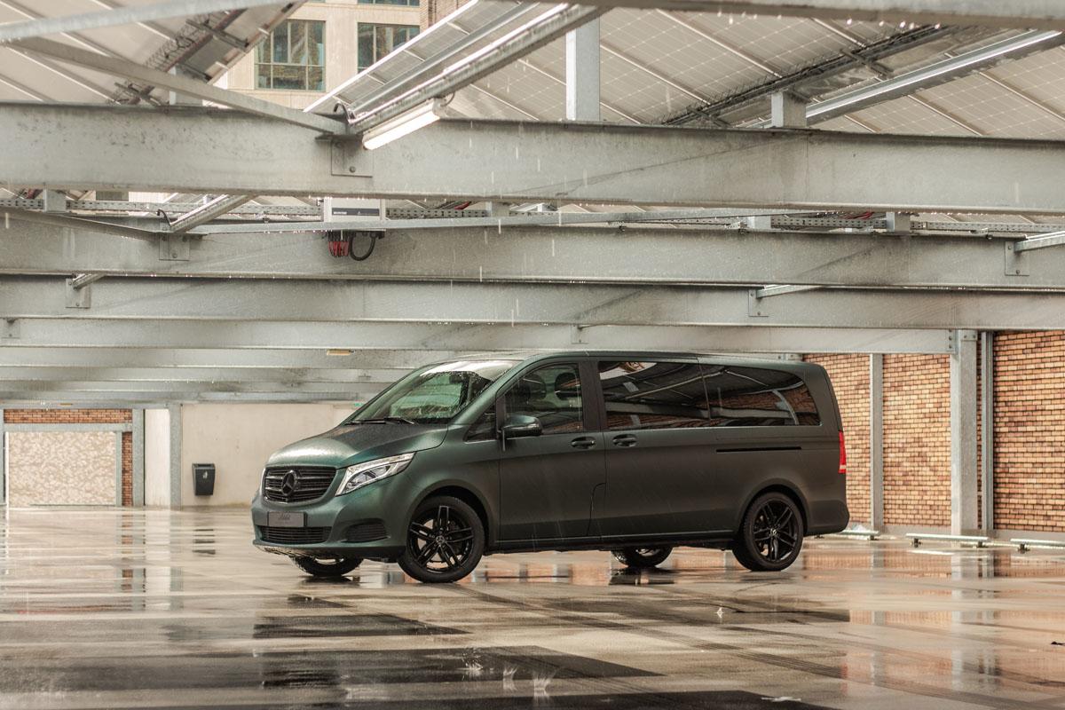 Mercedes -Benz V-Klasse Carwrap
