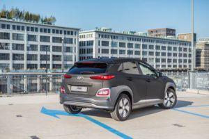 Hyundai Kona Electric Carwrap 3M Matrix Black