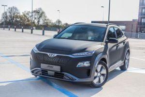 Portfolio Hyundai Kona Electric Carwrap 3M Matrix Black