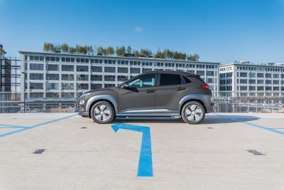 Hyundai Kona Electric auto wrap