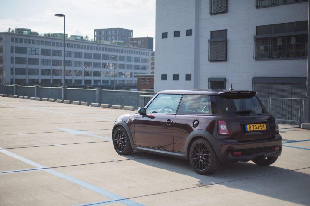 Carwrap Mini Cooper Eindhoven
