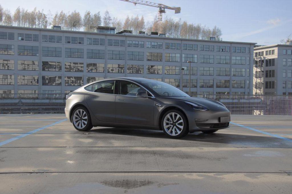 Tesla Model 3 wrappen Eindhoven