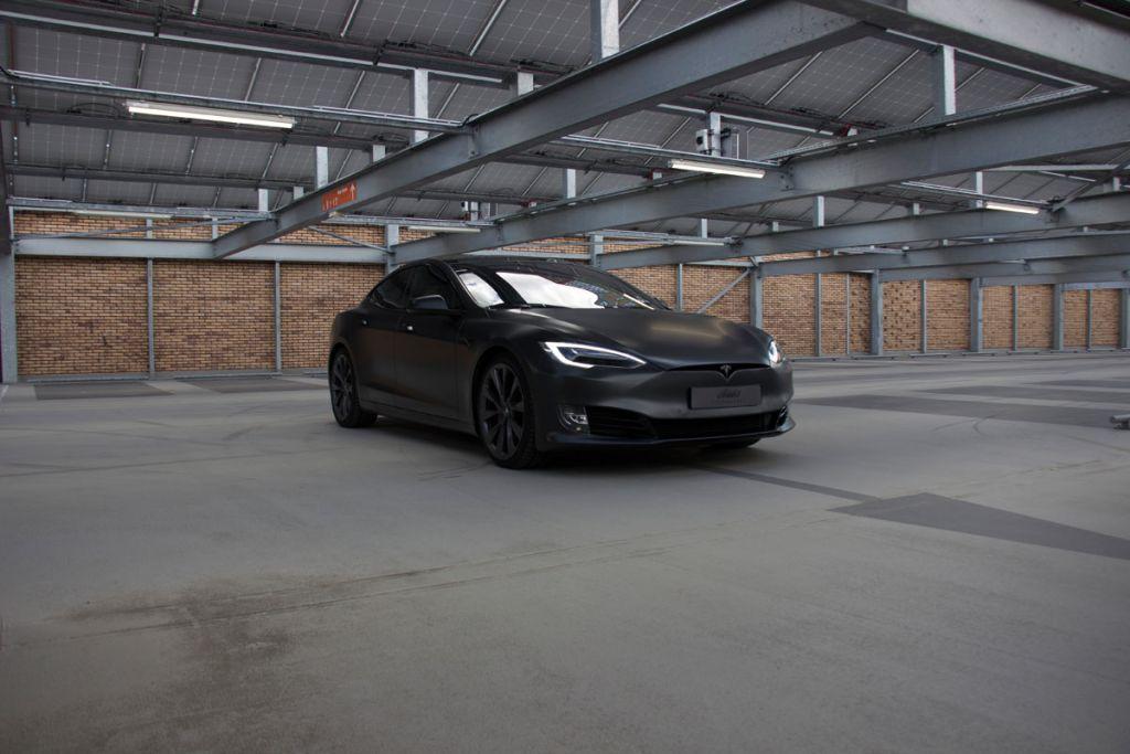 Tesla wrapen eindhoven