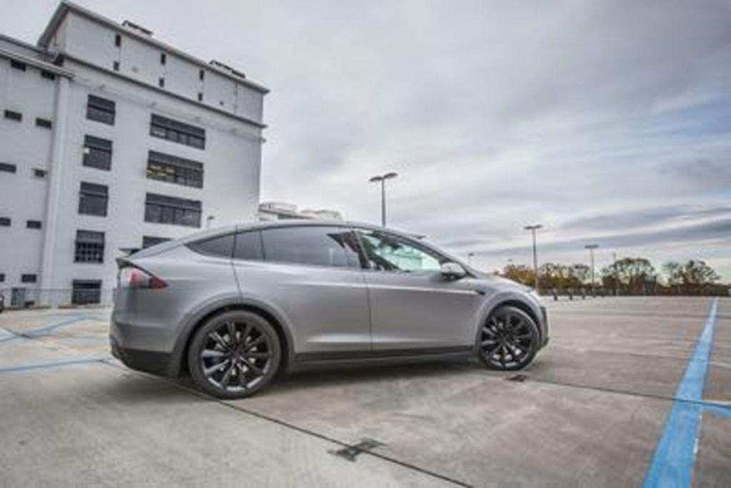Wrap Tesla Model X Eindhoven