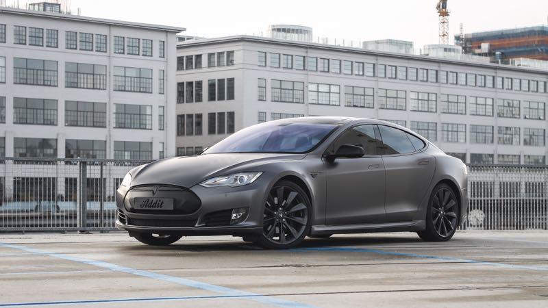 Tesla Model S Carwrap Eindhoven