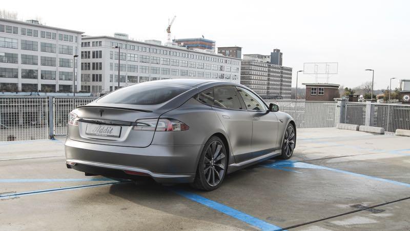 Carwrap Tesla Model S Eindhoven