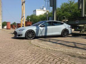 Carwrap Eindhoven Tesla Model S