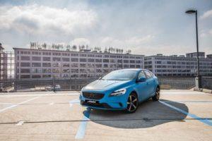 Volvo V40 Carwrap Eindhoven 3M-1080 Matte Riviera Blue