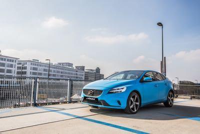 Volvo V40 Carwrap Addit Signmakers Eindhoven 3M Matte Riviera Blue 4