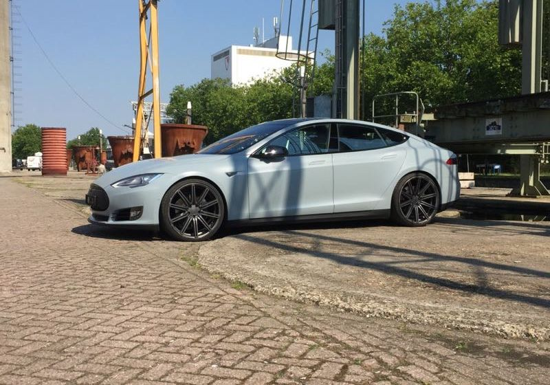 Carwrapping Eindhoven Tesla Model S